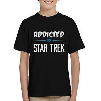 Addicted To Star Trek Kid's T-Shirt