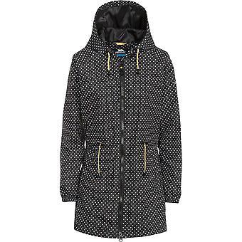 Trespass Womens/Ladies Isabella Hooded Polka Dot Waterproof Jacket