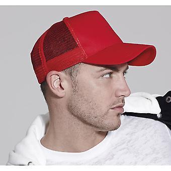 Beechfield Unisex halv Mesh Trucker hatt