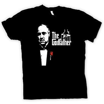 メンズ t シャツ-- ブランド - ゴッドファーザーのマフィア