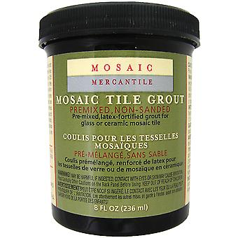 Mosaic Tile Grout 8 Ounces Black Grt 00072