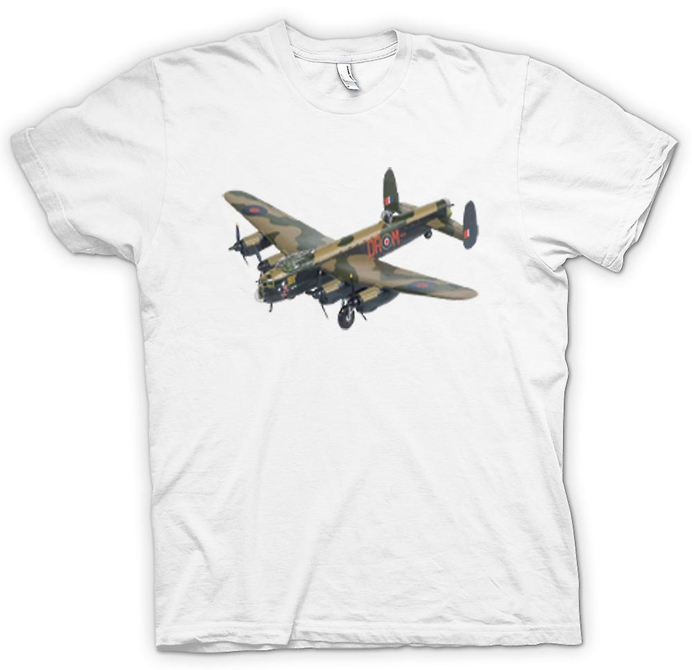 Mens t-shirt-Fighter Plane Bomber mimetico