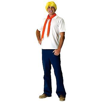Fred fra Scooby Doo kostume