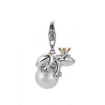 ESPRIT pendant of charms silver glass Pearl frog King ESCH90998B000
