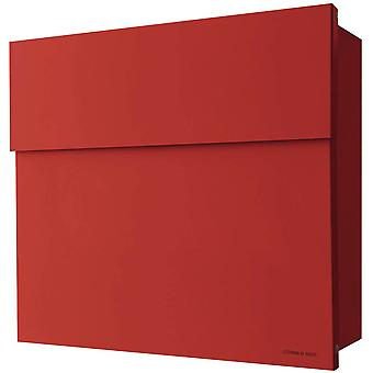 RADIUS letterbox Letterman 4 Red Wall letter box 560r