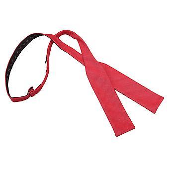 Vannmelon rød ottomansk ull Batwing Self Tie sløyfe