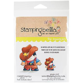 Estampage s'accrochent Squidgy Bella timbre 6,5
