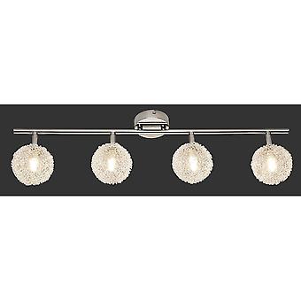 トリオ照明ワイヤー近代的な金属製のスポット