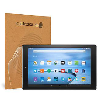 Celicious Impact Anti-Shock Shatterproof Screen Protector Film Compatible with Amazon Fire HD 10 (2015)
