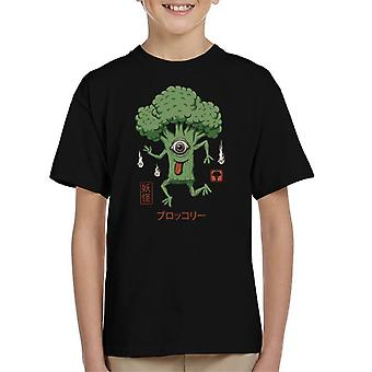 Yokai Broccoli Kid's T-Shirt