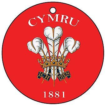 Cymru 1881 Car Air Freshener