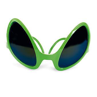 Alien-Brille Grünemännchen Ausserirdische Marsmensch Scherzartikel Accessoire