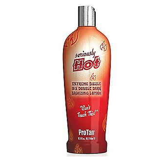 Pro Tan Pro Tan Seriously Hot Extreme Sizzle 10x Double Dark Bronzing Lotion