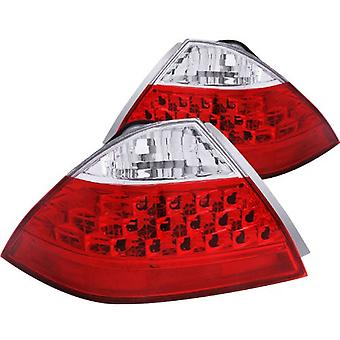 Anzo USA 221143 Honda Accord Red/Clear Tail Light Assembly (No Led Kit) - (Sold in Pairs)