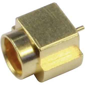 MMCX connector Socket, vertical vertical 50 Ω Telegärtner J01341A0081Y 1 pc(s)