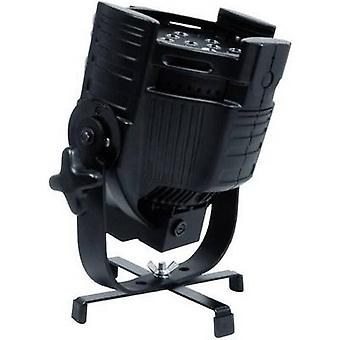 Stand base Eurolite FS-1 Floorstand schwarz Suitable for: PAR spotlight (L x W x H) 215 x 215 x 45 mm