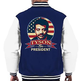 Tyson For President Men's Varsity Jacket