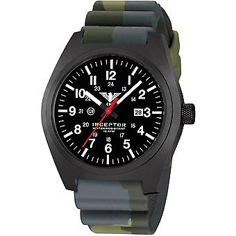 KHS mens watch interceptor black steel KHS. INCBS. DC3