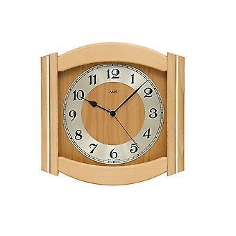 Wall clock radio AMS - 5822-18