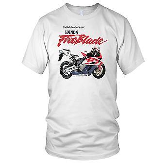 Honda Fireblade-klassische Motorrad-Herren-T-Shirt