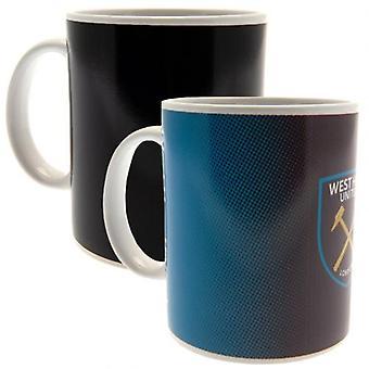 West Ham United Heat Changing Mug