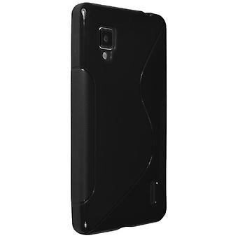 Technocel Slider Skin with Ying Yang Pattern for LG LS971 - Black