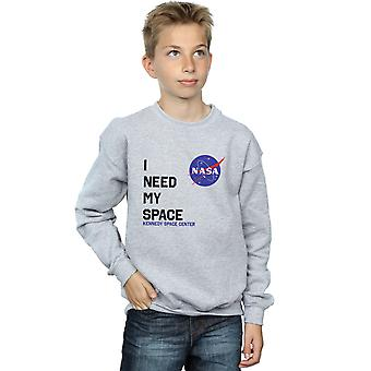 NASA Boys I Need My Space Sweatshirt