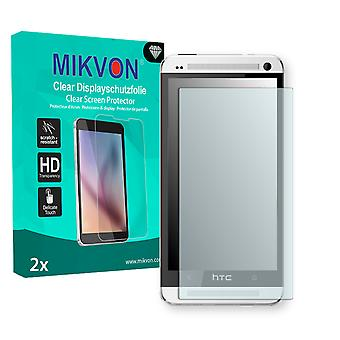 HTC One Screen Protector - Mikvon Clear (Retail Package with accessories)