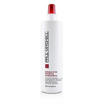 Paul Mitchell Flexible Style Fast Drying Sculpting Spray (Touchable Hold - Working Spray) - 500ml/16.9oz