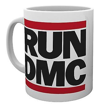 Run DMC Mug Classic Band Logo Hip Hop Walk this way new Official White Boxed