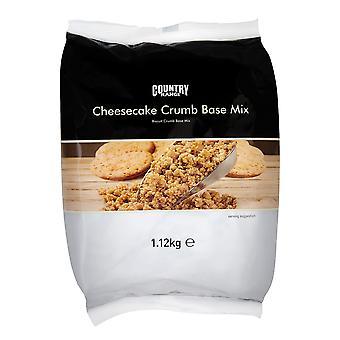 Land Auswahl Käsekuchen Keks Krümel Base Mix