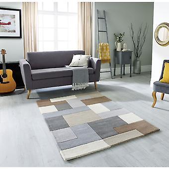 Lexus Neutral  Rectangle Rugs Modern Rugs
