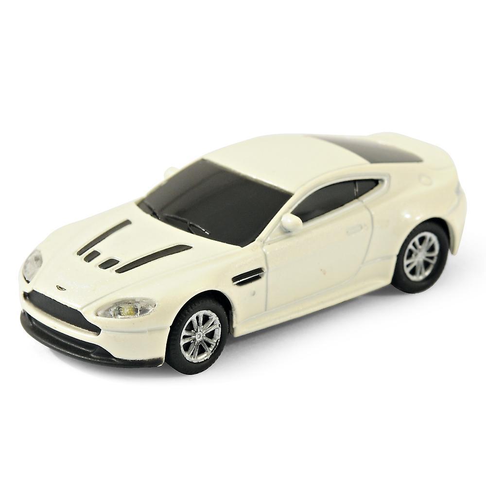 Official Aston Martin Vantage Sports Car USB Memory Stick 8Gb - White