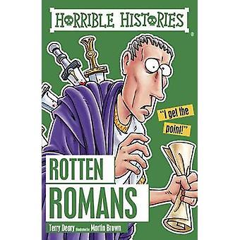 Livro de romanos podres por Terry Deary - Martin Brown - 9781407163840