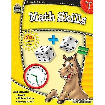 Matematiska färdigheter - grad 1 av lärare skapade resurser - 9781420659207 Bo