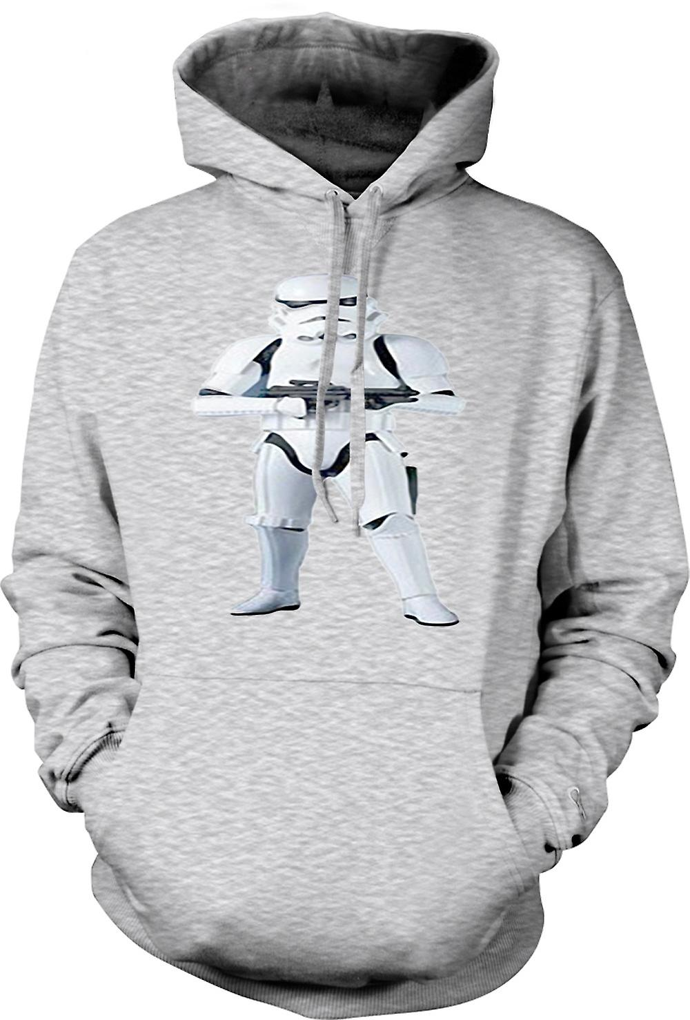Mens Hoodie - Star Wars - Storm Trooper - Vidéo