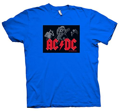 Mens T-shirt - AC / DC - Let There Be Rock - Banda