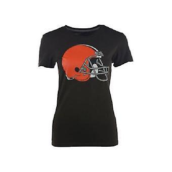Cleveland Browns algodão camiseta NFL Nike feminino