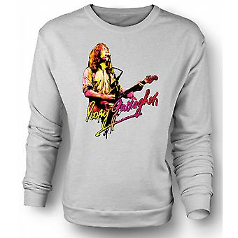Mens Sweatshirt Rory Gallagher - Blues God - Rock Music