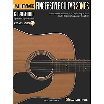HAL Leonard Guitar Method: Fingerstyle Guitar Songs (Hal Leonard Guitar Method (sångböcker))