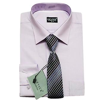 Page Boys Lilac Formal Shirt and Tie Set