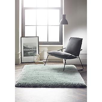 Callie blå rektangel mattor Plain/nästan slätt mattor