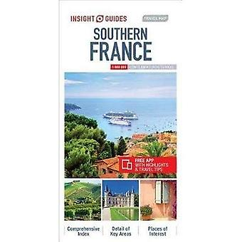 Insight Guides Travel Map Southern France (Insight Travel Maps)