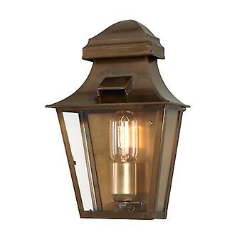 St Pauls Wall lanterne laiton - éclairage Elstead