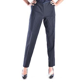 Incotex blauw Polyester broek