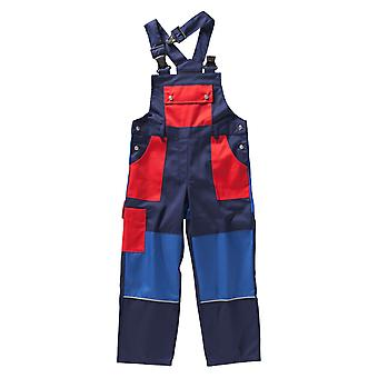 BEB kids bib premium work clothing cargo with reflector