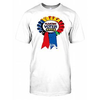 Floating elector 2015 - conservador trabajo Lib Dem niños T Shirt
