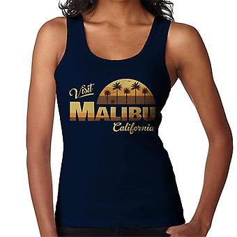 Visit Malibu Retro California Women's Vest