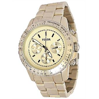 Fossil Stella Ladies Champagne Chronograph Watch CH2708