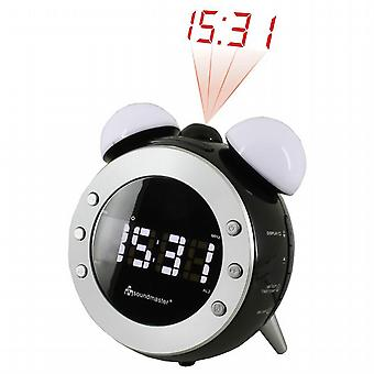 Radio alarm clock with light. UR140SW. Soundmaster